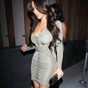 Kardashians for Bebe Bandage Dress